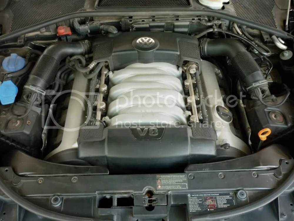 medium resolution of lift either end of the v8 or w12 cover