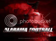 Alabama Football 2008 Photo by Spineman_photos | Photobucket