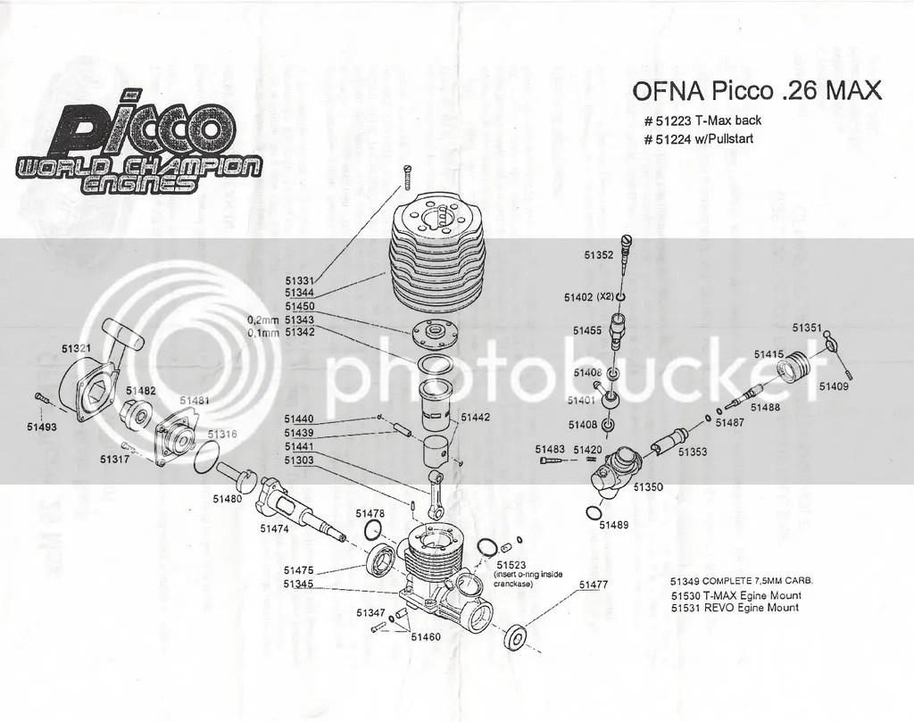 traxxas revo 3 parts diagram 2000 dodge caravan radio wiring picco 26 in t-maxx 3.3
