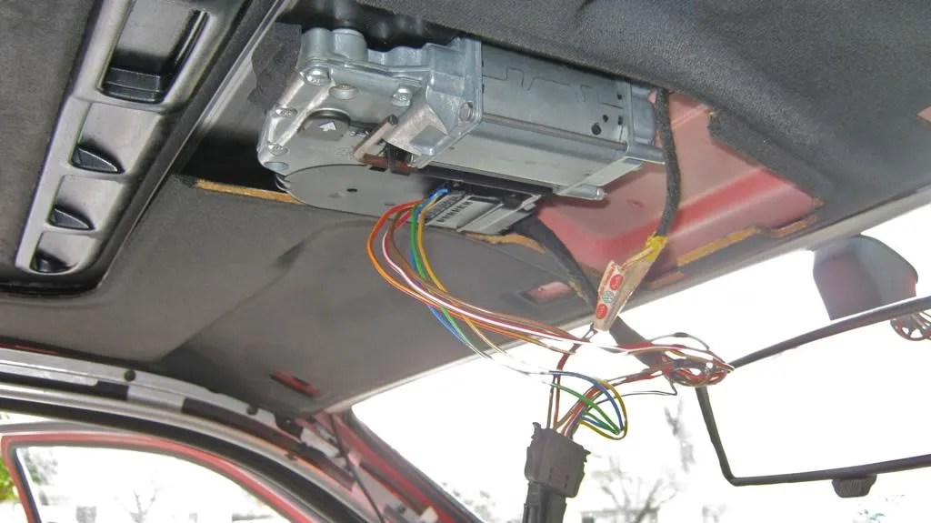 Wiring Diagram For Sunroof