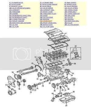 18T Engine Diagram