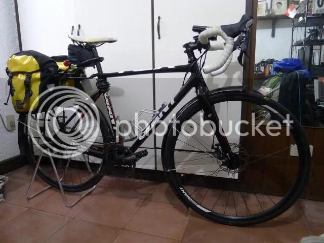 "Axiom Rear Bike Rack Streamliner Disc 29/"" Black"