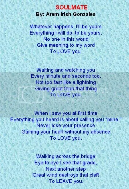 Poem My You I Love Soulmate