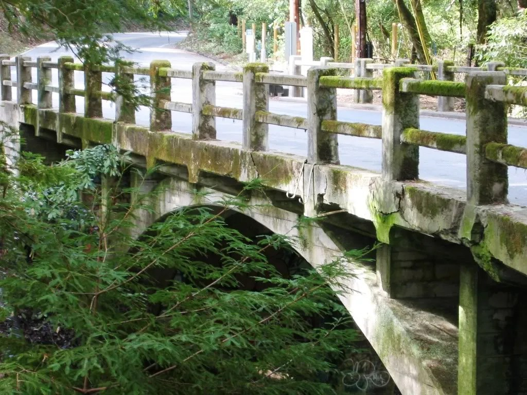 Bridge over Boulder Creek on Big Basin Highway 236