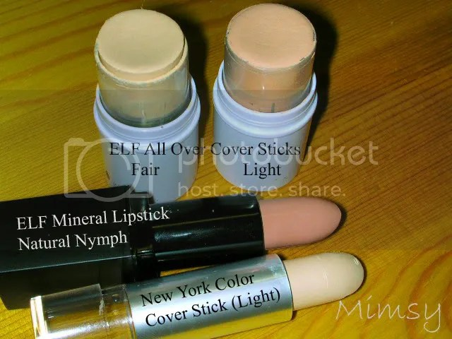 Natural Nymph and Concealers