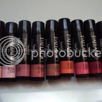 Palladio Herbal Tinted Lip Balm swatches