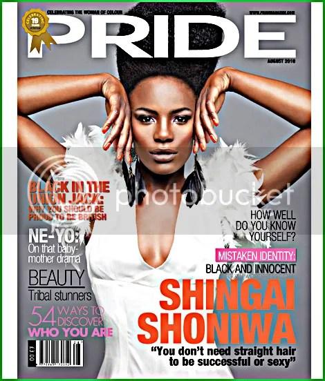 Shingai Shoniwa Covers Pride Magazine