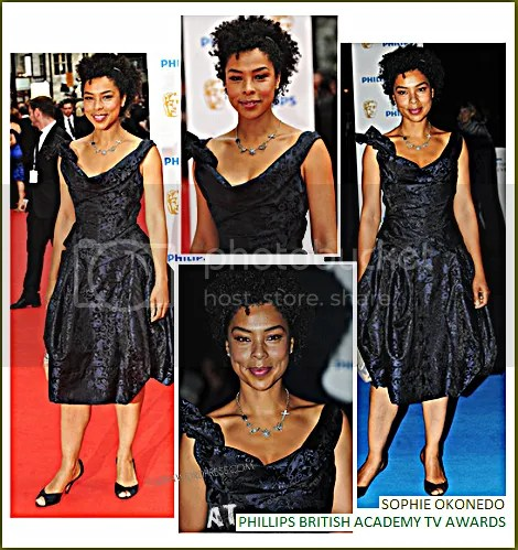 SOPHIE OKONEDO AT PHILLIPS BRITISH ACADEMY TELEVISION AWARDS