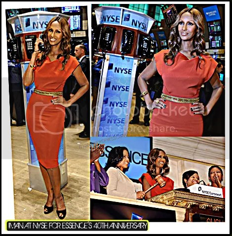 IMAN TAKES OVER THE NYSE