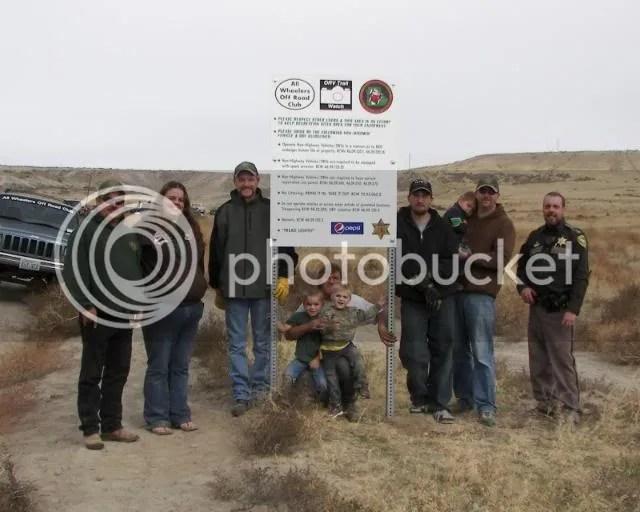 Photos: The Slab AKA Ranksville ORV Rules Sign Placement Run 139