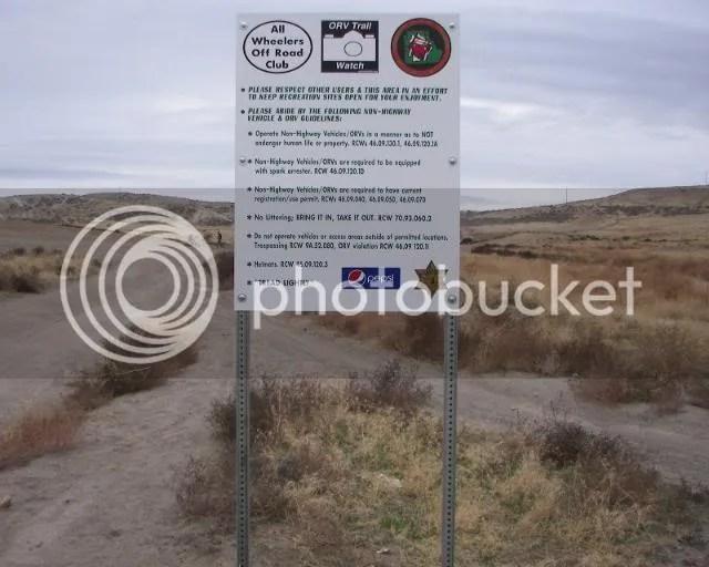 Photos: The Slab AKA Ranksville ORV Rules Sign Placement Run 181