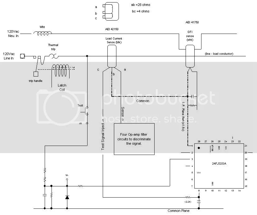 Ab Microcontroller Wiring Diagram Afci Test Button What Does It Do