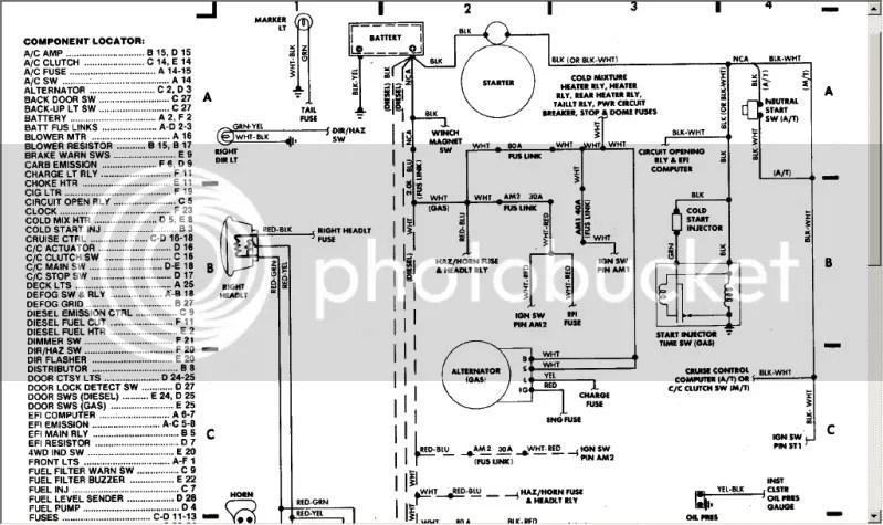 85 Toyota 4runner Efi Wiring Diagram, 85, Get Free Image