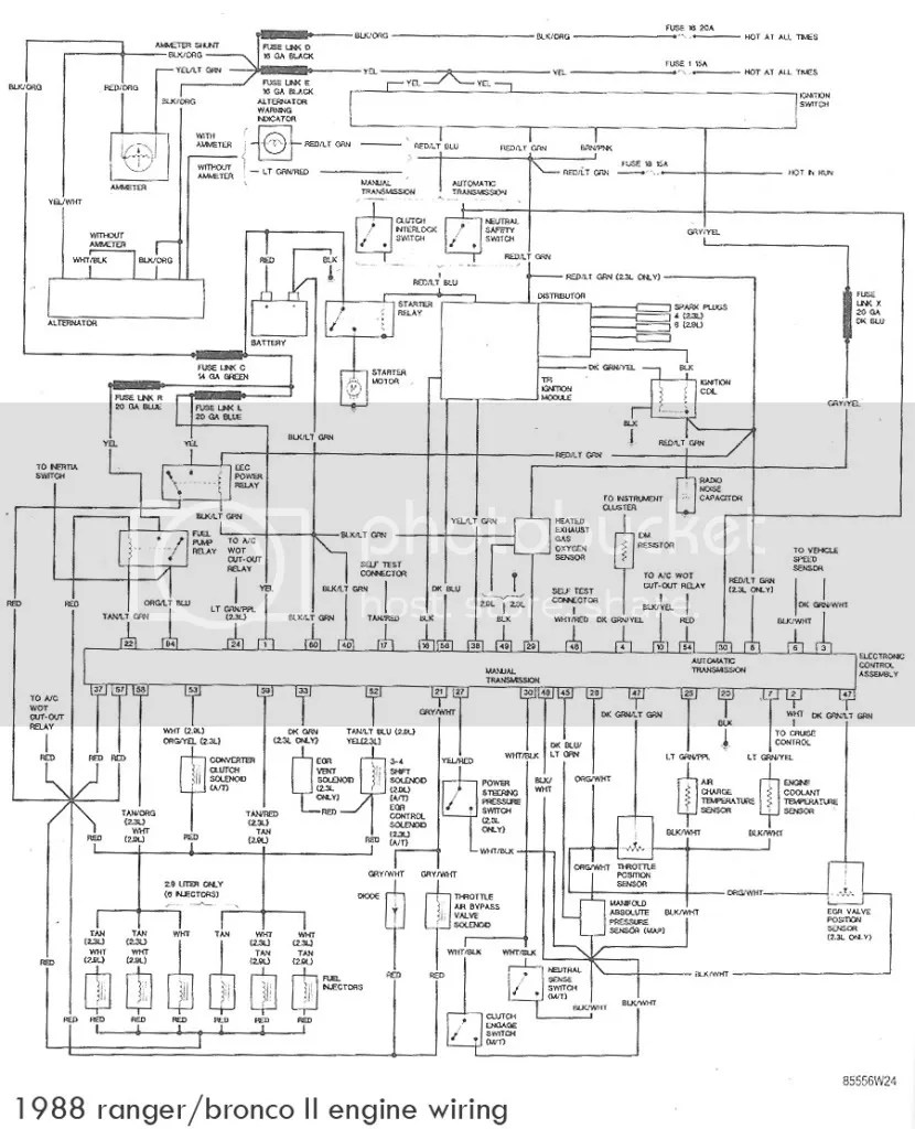 hight resolution of 1988 ford bronco engine diagram wiring diagram row 1988 ford bronco 2 wiring diagram
