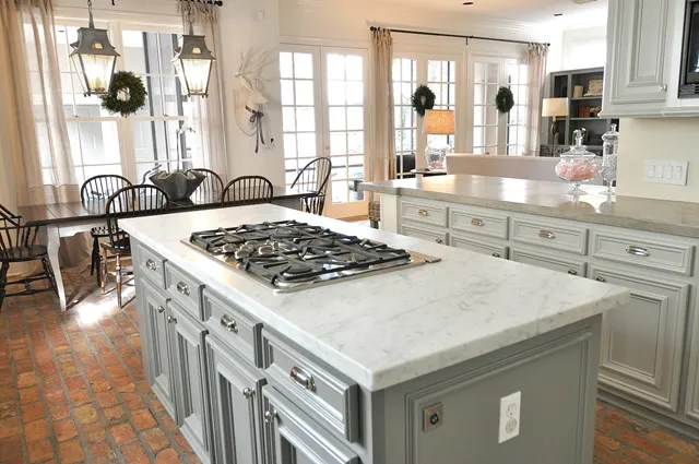brick floor kitchen replace sink the lettered cottage save