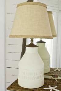 Milk Jug Lamp | The Lettered Cottage