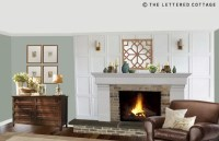 The Brick Fireplace - Pick My Presto | The Lettered Cottage