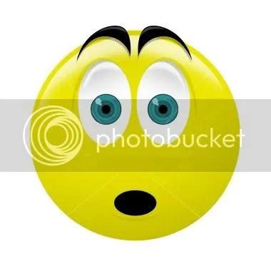 Surprised Smiley Oh no smiley oh no smiley oh