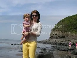Sascha and Baby at Lee Abbey