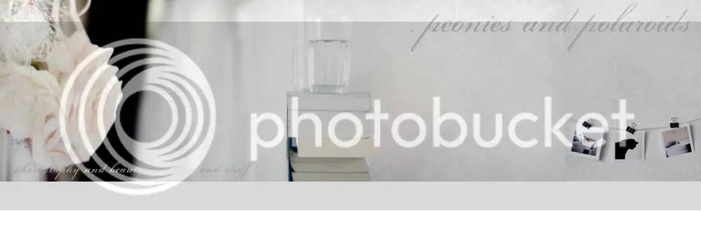 Peonies and Polaroids