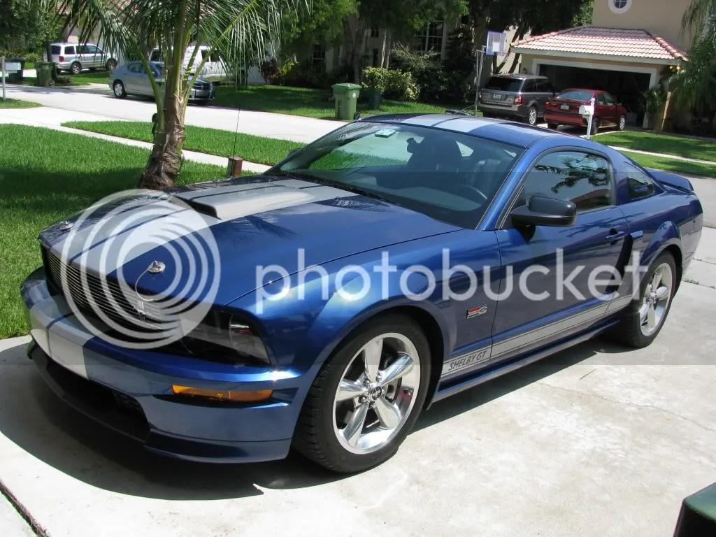 Fake Hood Scoop Mustang Gt