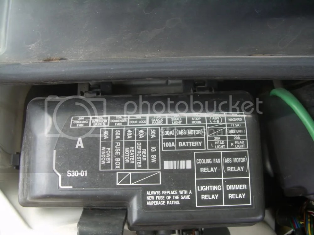 medium resolution of 1988 honda prelude fuse box location wiring diagram honda civic fuse box diagram 1988 honda prelude