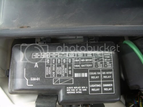 small resolution of 1988 honda prelude fuse box location wiring diagram honda civic fuse box diagram 1988 honda prelude