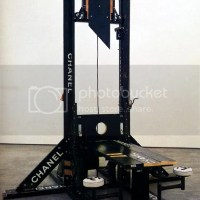 National Guard Soldiers Saw & Touched The Guillotines At Fort Devens.