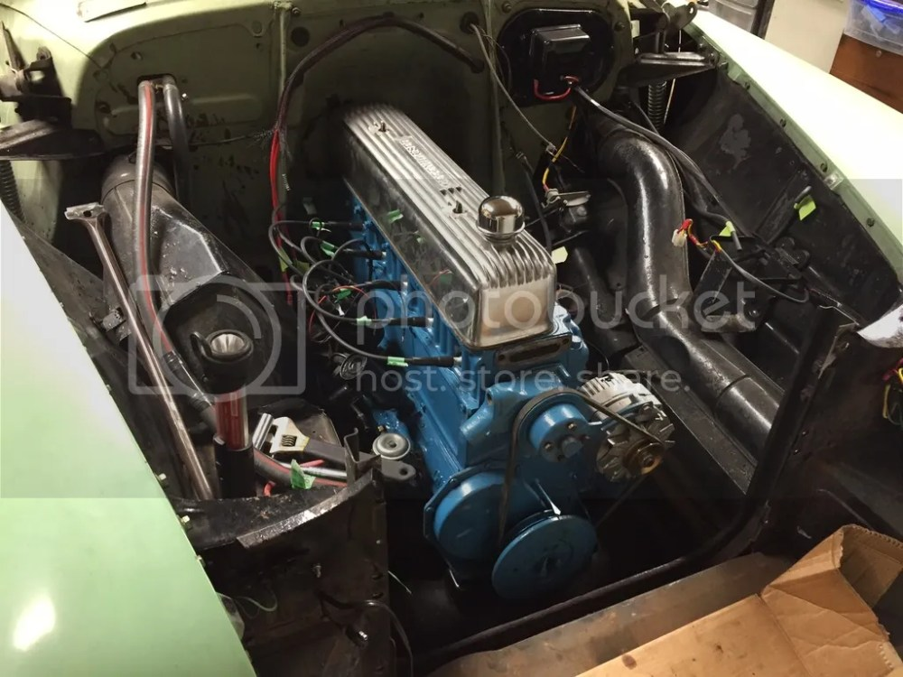 medium resolution of 1951 chevy styleline deluxe 2 door sedan 1954 235 with isky cam shaved head dual carter yf 787s carbs on offenhauser intake split manifold dual exhaust