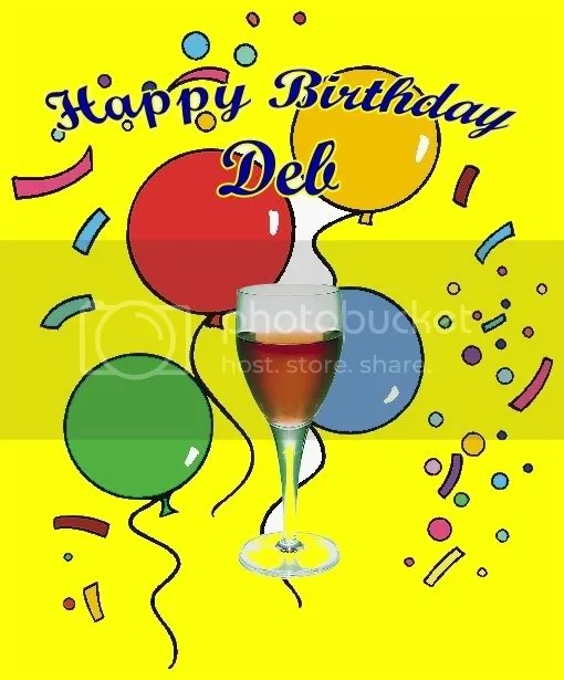 Happy Birthday Deb!! Backyard Galah Cam