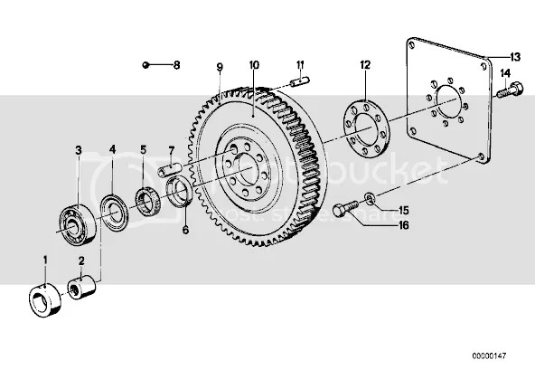 M30 Pilot bearing & flywheel Q's • MyE28.com