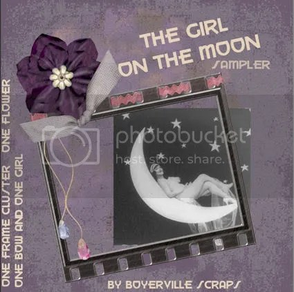FREEBIE Girl on the moon sampler