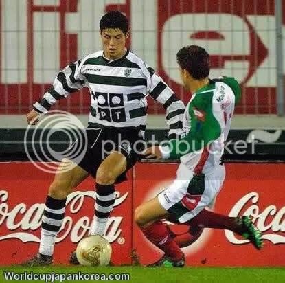 cristiano ronaldo early days on sporting