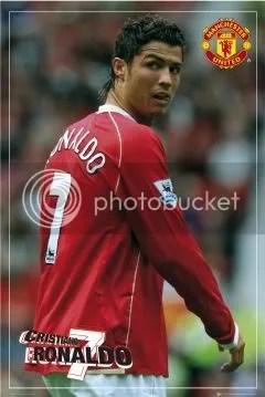 cristiano ronaldo on number 7