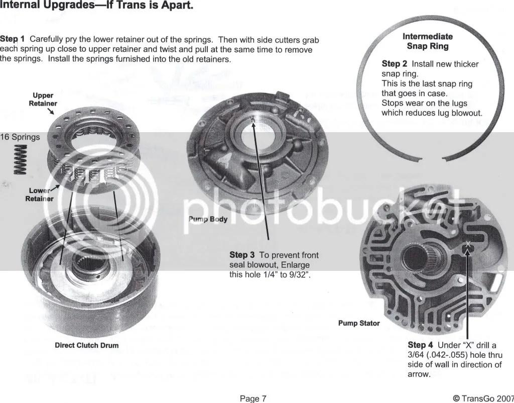 Transgo 4L80e HD2 Instructions Please