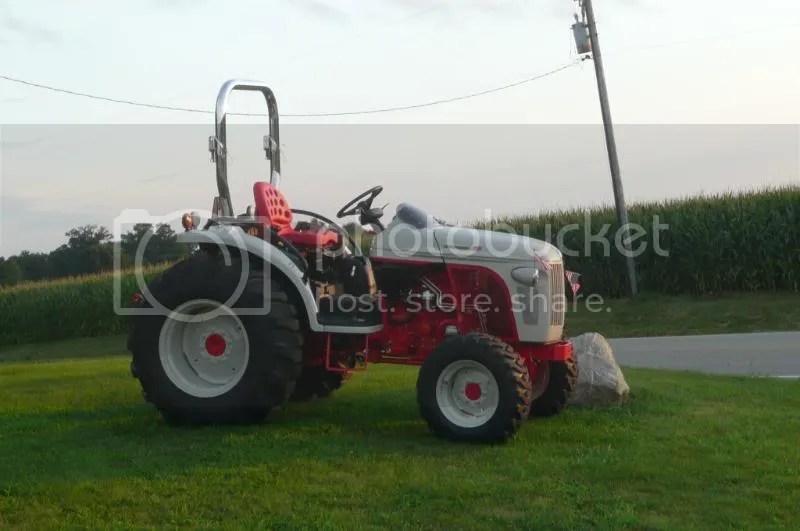 Ford Tractor Rototiller