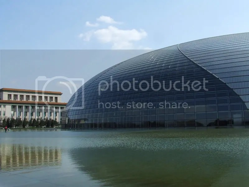 Old and New architecture_3_The Beijing National Grand Theatre