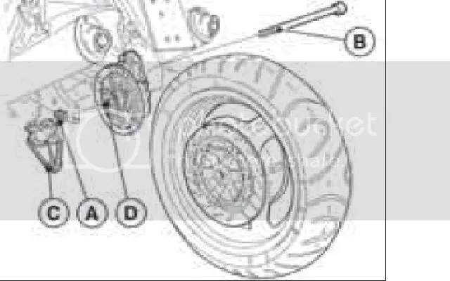 Rear Wheel Bearing Failure / Centerstand Questions