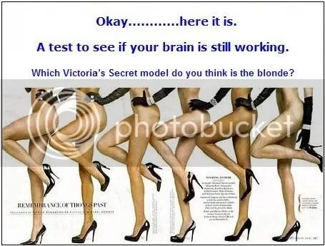 blonde test