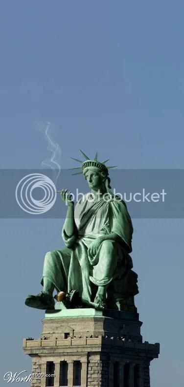 lady liberty break