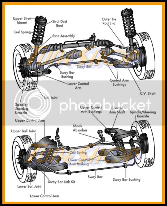 Honda Odyssey Rear Suspension Diagram