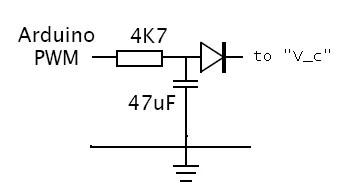 Arduino Uno controlling an IN-13 nixie