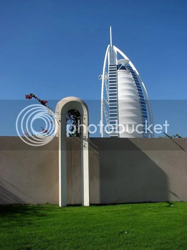 Burj al Arab si-un gard