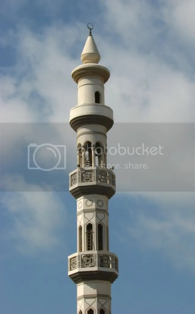 Turn Moschee Kalifa cumva - sa retineti voi nume arabe, ca eu nu reusesc!