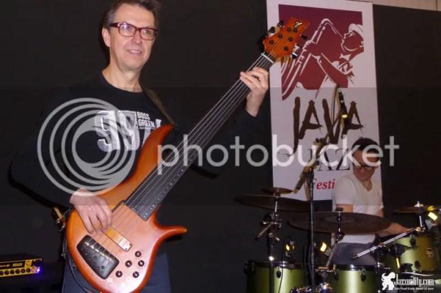 alain caron, java jazz festival 2015, montreal jazz festival 2015
