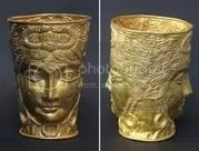 Ancient Gold Cup for auction at $980,000
