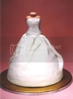 Wedding Cake Dress by Elisa Strauss at Confetti Cakes
