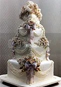 Wedding Cake by Sylvia Weinstock