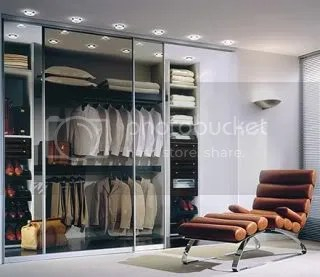 His closet by German closet manufacturer