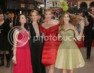 Sarah Jessica Parker, Kim Catrall, Cynthia Nixon, and Kristin Davis